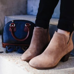 The perfect brown booties