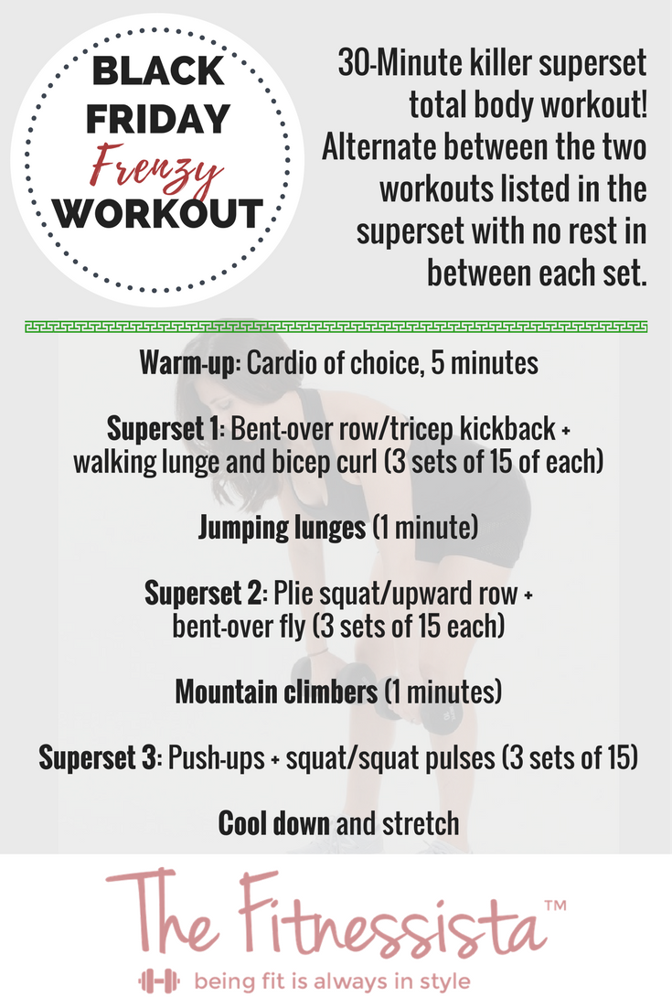 Black Friday Workout
