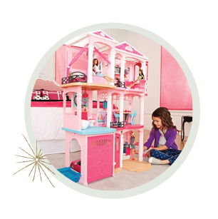 Holiday gifts for kids - barbie dreamhouse