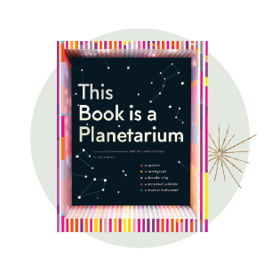 Holiday gifts for kids - planitarium book