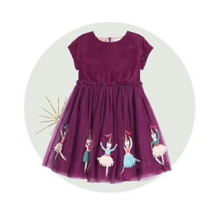 Holiday gifts for kids - purple dress