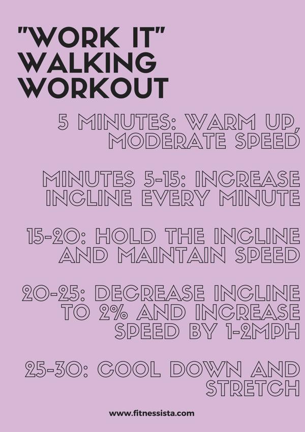 WORK IT Walking workout