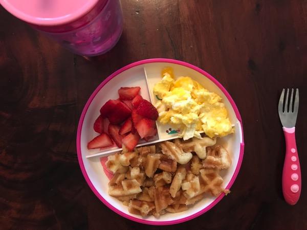 P's breakfast