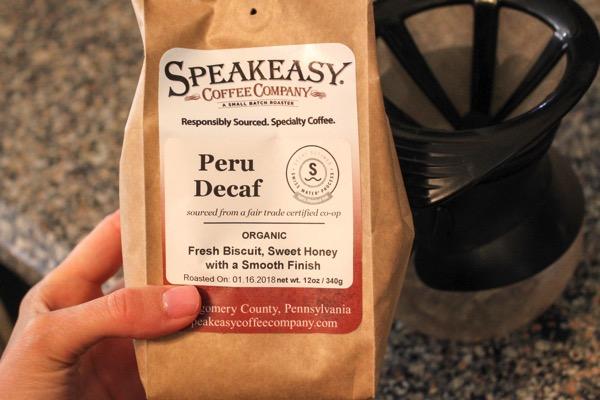 Speakeasy coffee