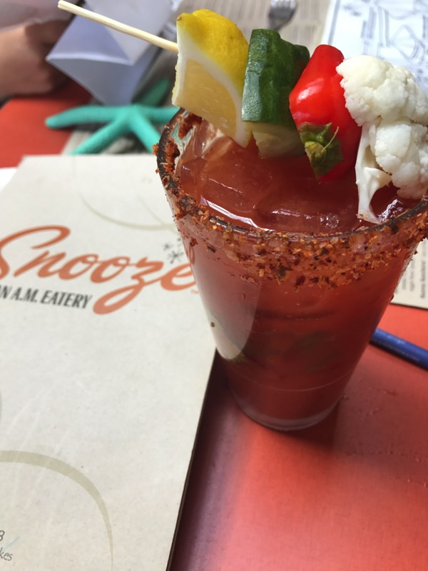 Bloody mary at Snooze