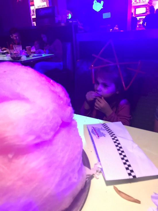 Cotton candy at Corvette's