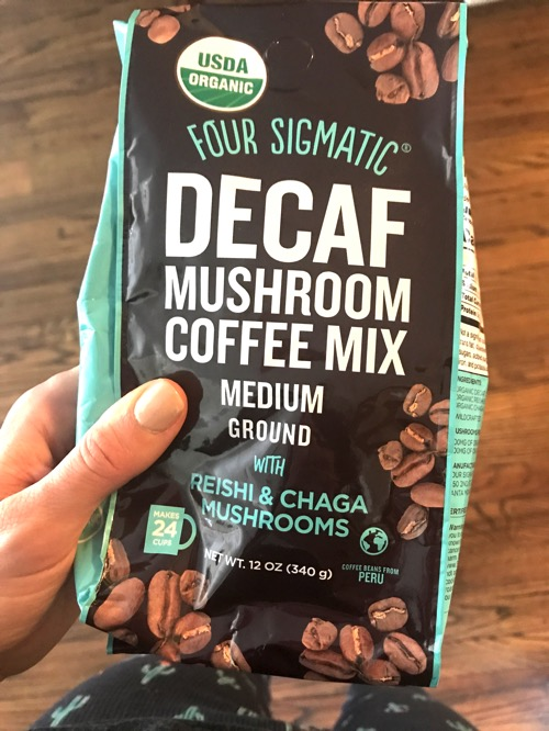 Four sigmatic decaf mushroom coffee