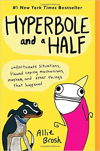Hyperbole and a half #funnybooks