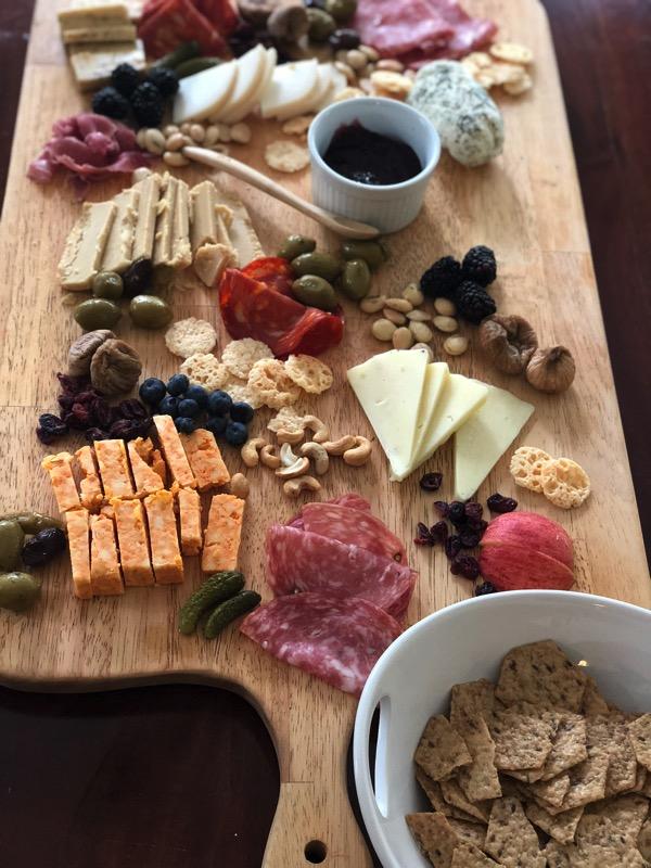 beautiful cheese board