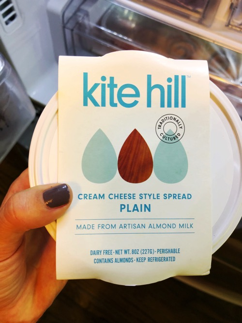 Kite hill cream cheese style spread
