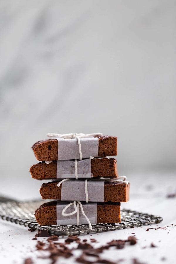 Barritas de proteína de chocolate