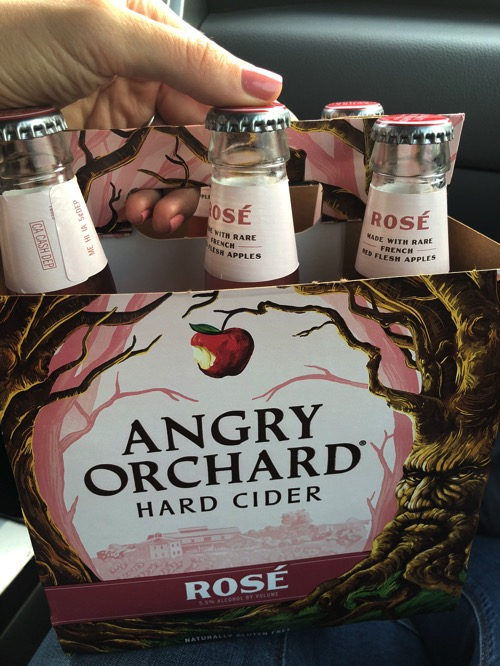 Angry orchard hard cider rosé