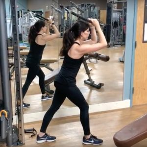 cable triceps extension