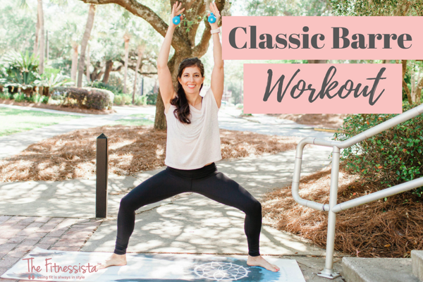 Classic barre workout