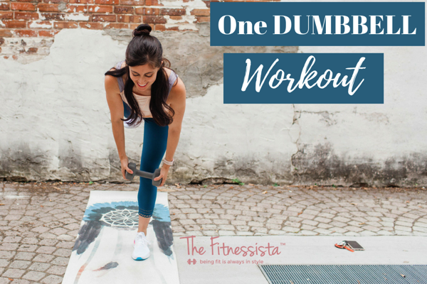 One dumbbell workout