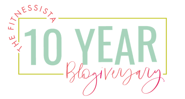 10 Year Blogiversary Logo