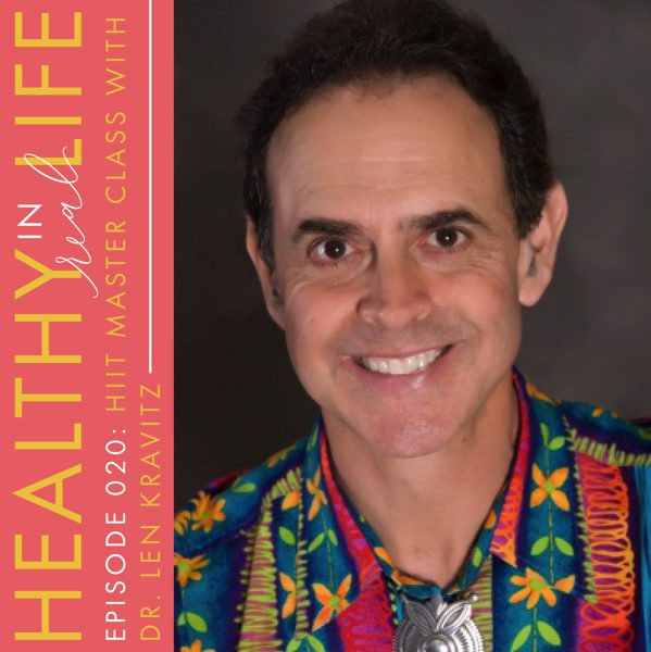 Podcast about HIIT with dr len kravitz