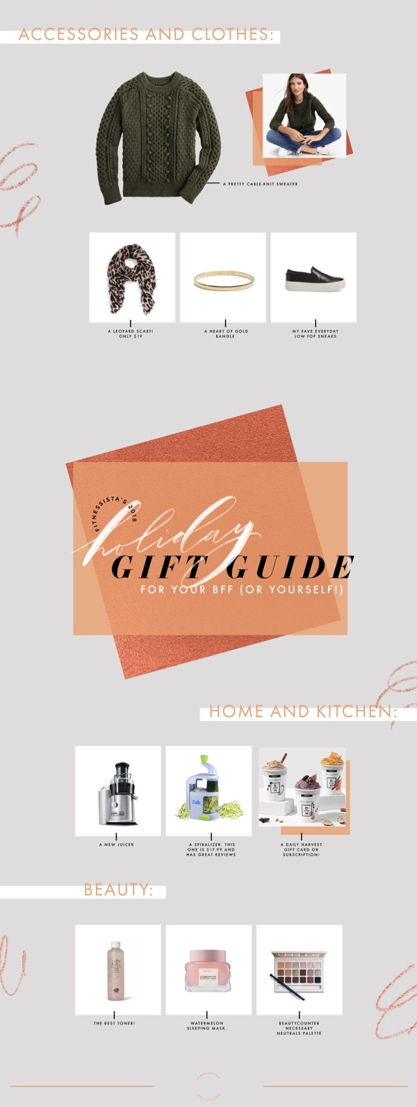 Holiday Gift Guide 2018 For Your BFF
