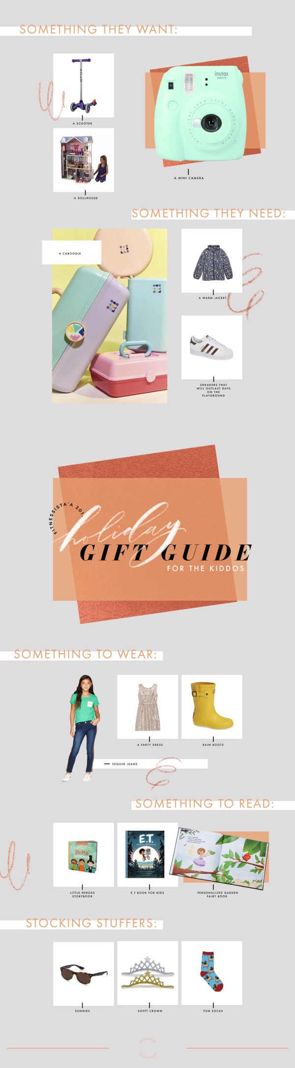 Holiday Gift Guide 2018 for the Kiddos