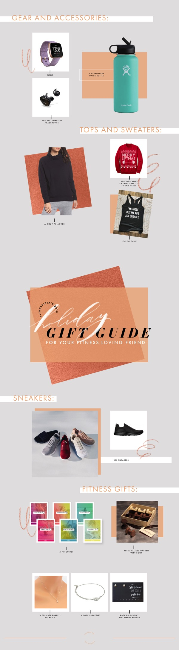 Holiday Gift Guide 2018 for your Fitness Loving Friend