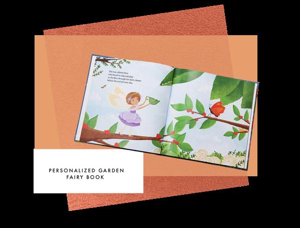 Personalized Garden Fairy Book