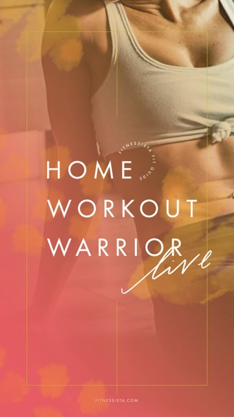 Fitnessista Home Workout LIVE