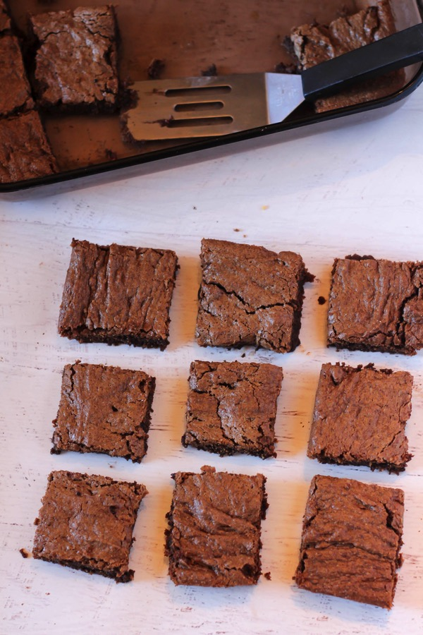 These gluten-free and dairy-free collagen brownies are packed with protein and healthy fats. They make an awesome healthy dessert, and have a fudgy texture. You'll love them! fitnessista.com