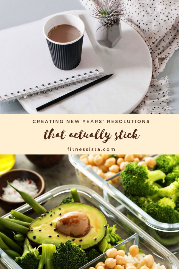 Tips for creating and accomplishing this year's 2019 new years resolutions