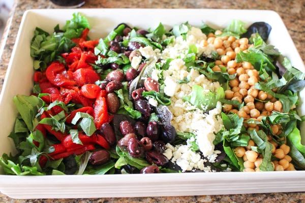 Italian easy salad