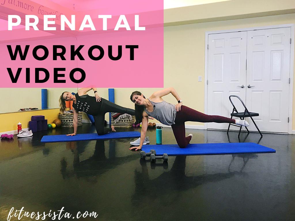 71a2bd81cc674 Pregnancy exercises (+ a prenatal workout video) - The Fitnessista