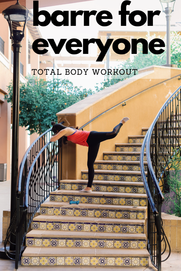 Barre for everyone total body workout