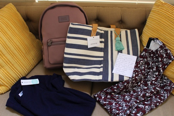 Stitch fix goodies