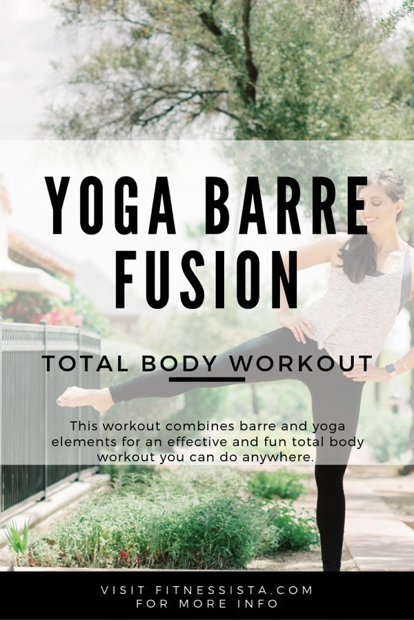 YOGA BARRE WORKOUT