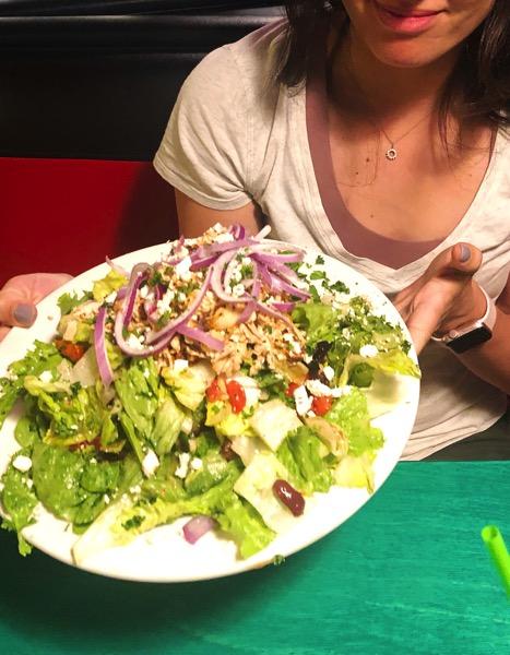 Oreganos salad