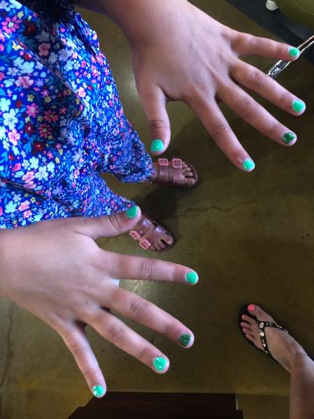 Fresh nails