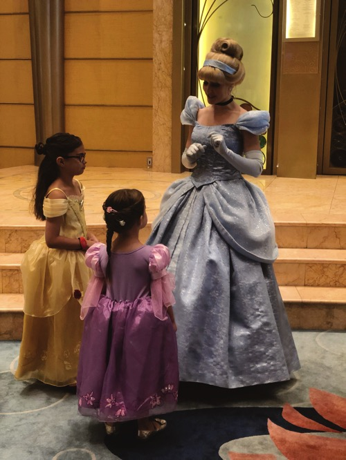Girls w cinderella