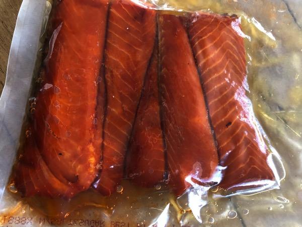 Goodbye salmon love