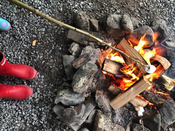Smore roasting