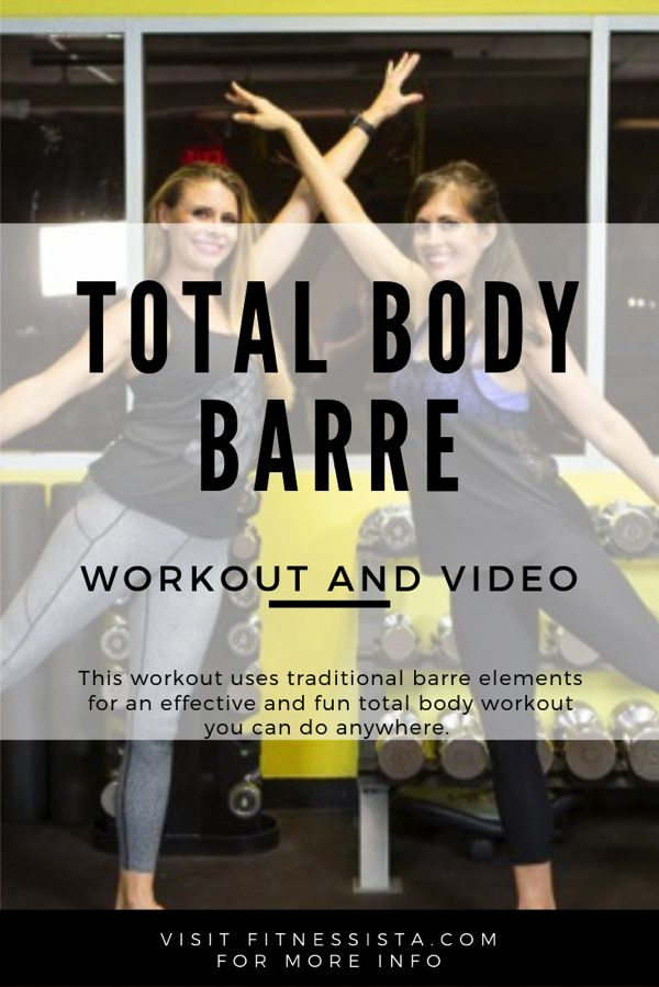 Get in a full barre workout for free at home, or anywhere. This is a great way to strengthen your lower body through endurance work and traditional barre exercises.