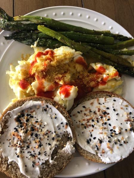 Egg muffin asparagus