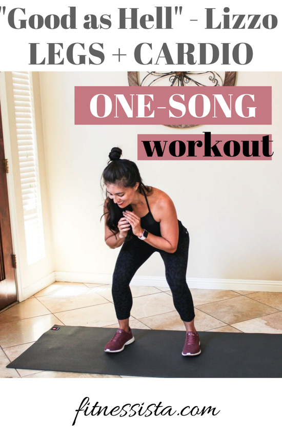 ONE SONG WORKOUT to Good As Hell by Lizzo! Super fun way to change up your workout routine.