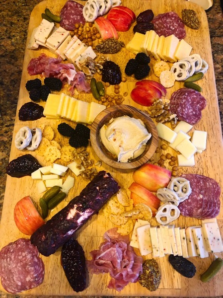 Giant cheese board