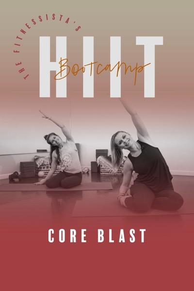 Fitnessista CORE BLAST Bootcamp Cover