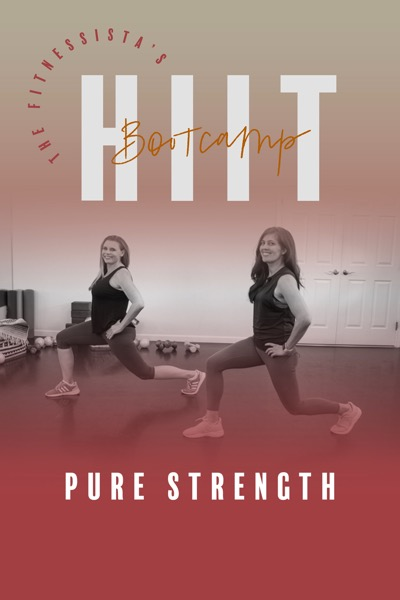 Fitnessista PURE STRENGTH Bootcamp Cover