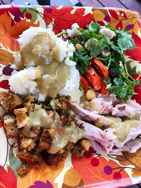Tgiving plate