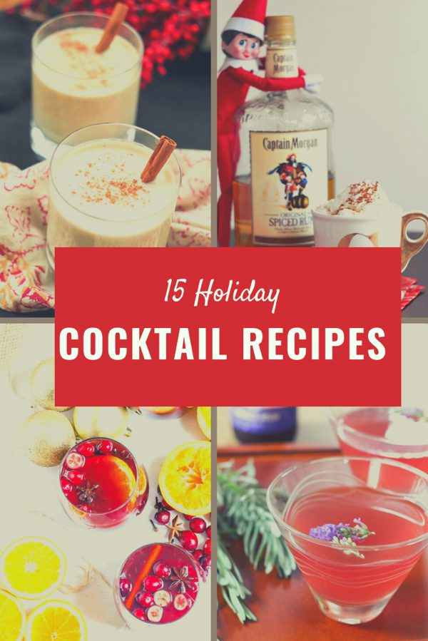 15 Festival Holiday Cocktail recipes