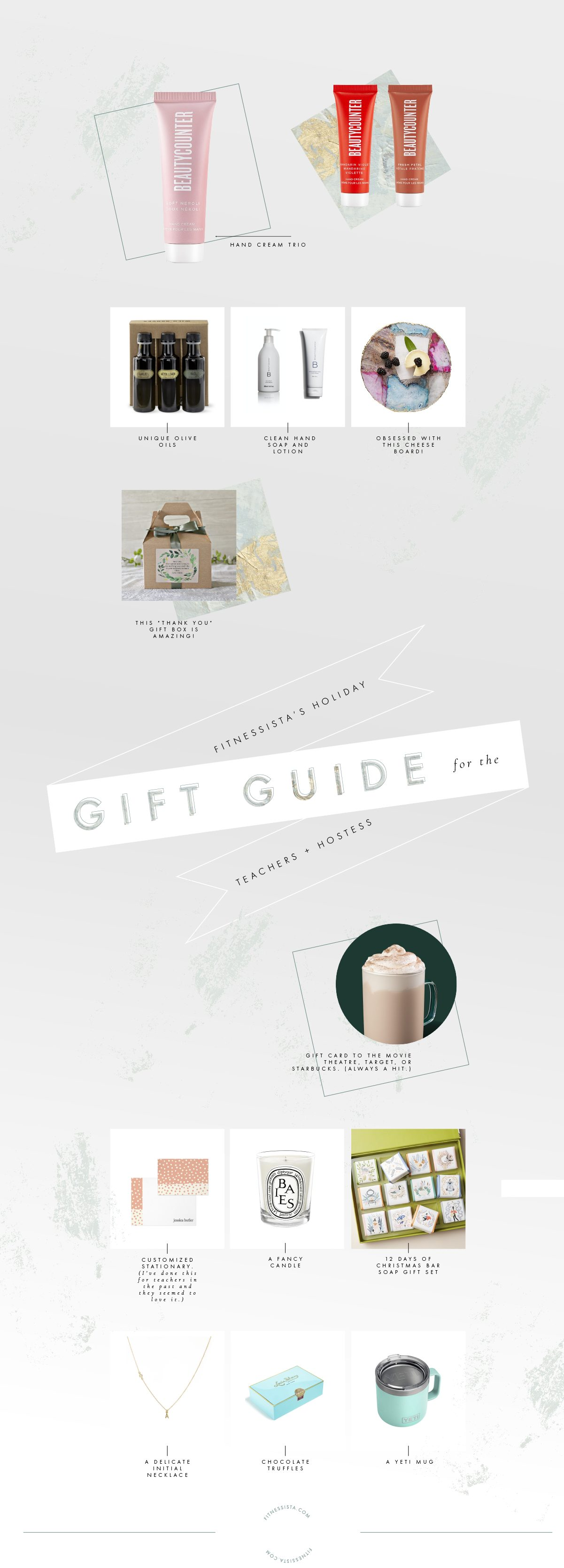 2019 holiday gift guide for teachers and hostesses