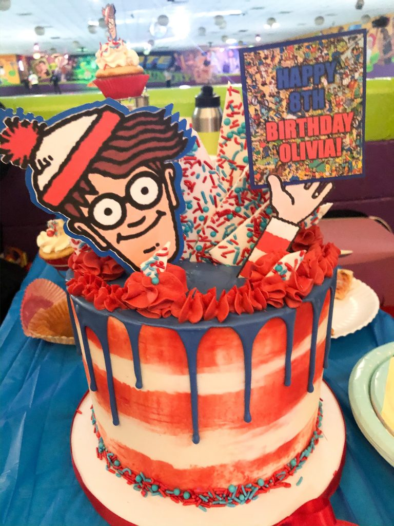 Where's Waldo cake for birthday party