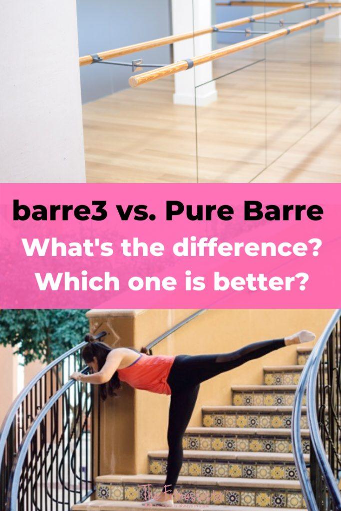 Barre3 vs. Pure Bare. Which one is better? fitnessista.com