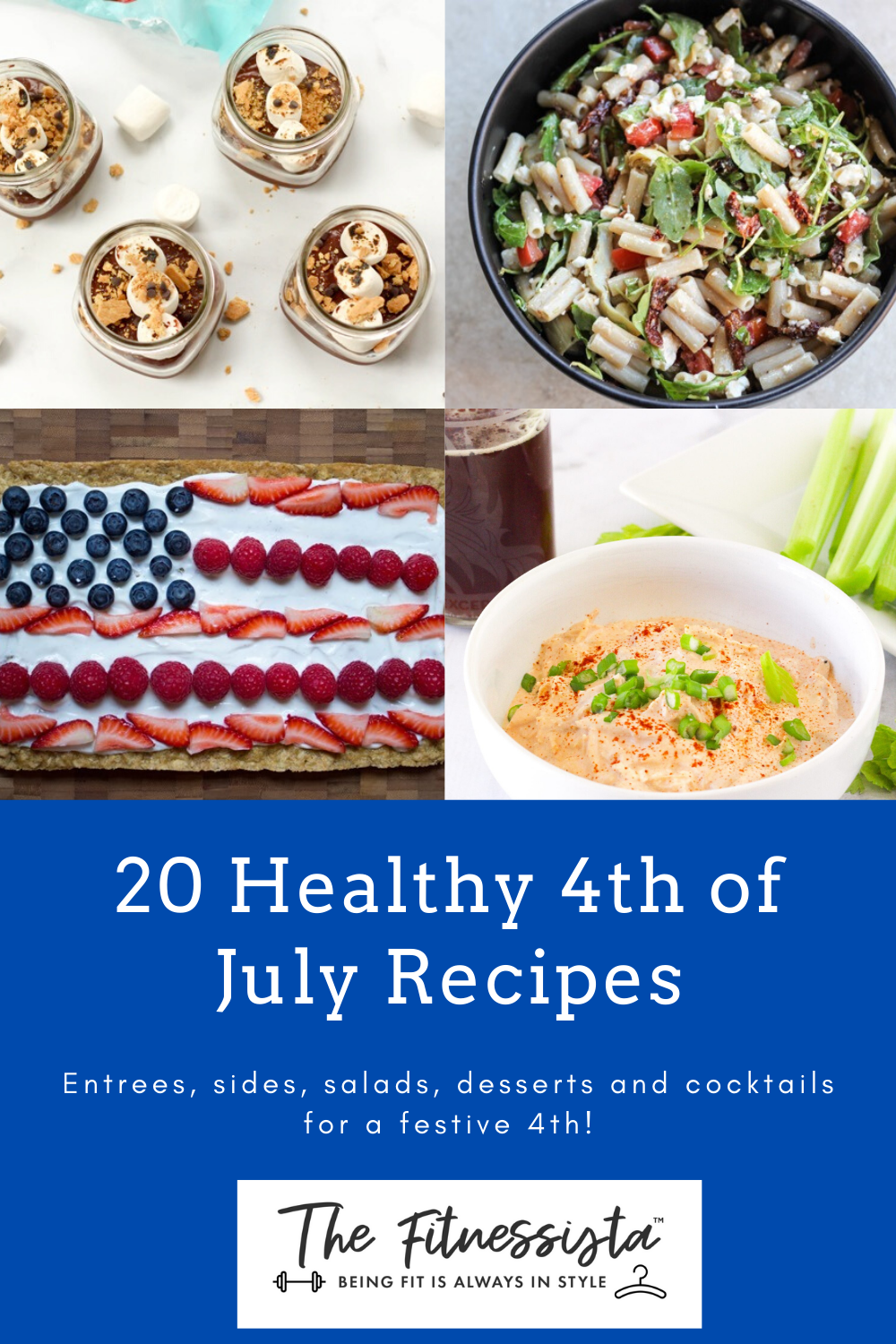 Healthy 4th of July recipes. fitnessista.com